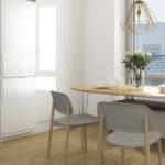 Visualisering av inredning i lägenhet i U25.