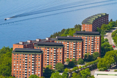 Larsbergsvägens punkthus