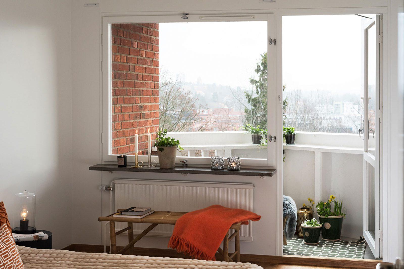 Stamrenoverad balkong i Larsberg