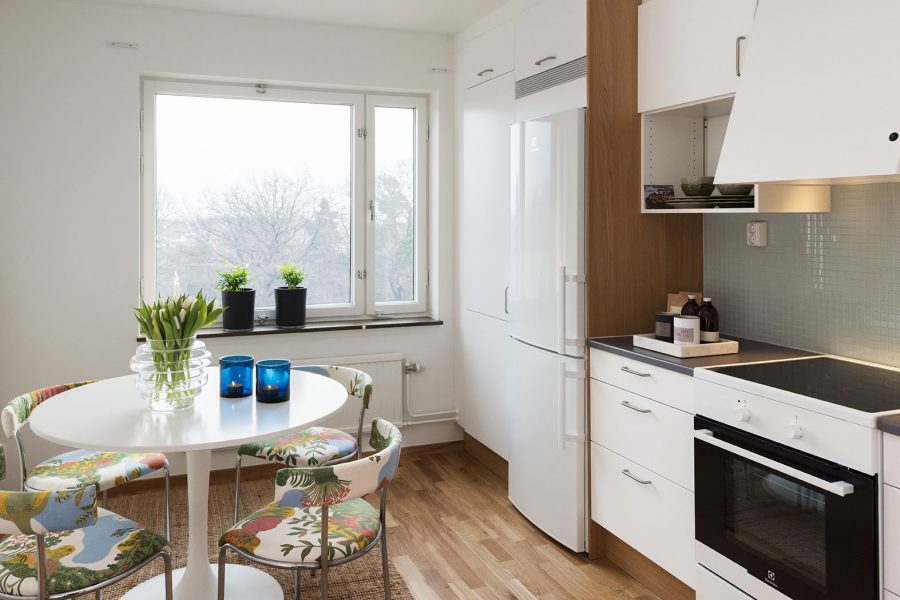 Stamrenoverat kök i Larsberg