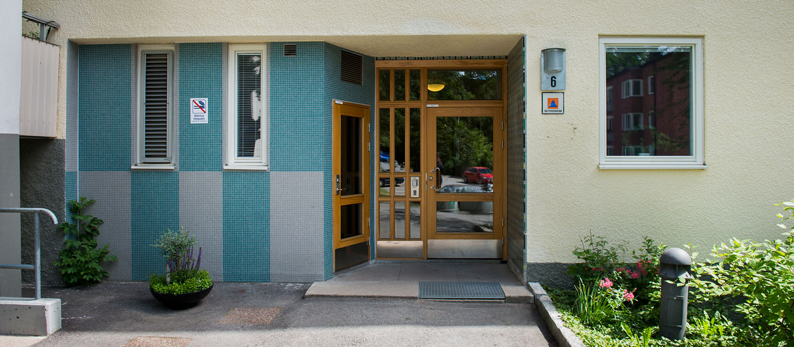 John Mattsons fastighet Galeasen2 i Baggeby på Lidingö.