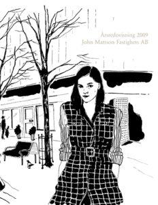 Omslag till John Mattsons årsredovisning 2009.