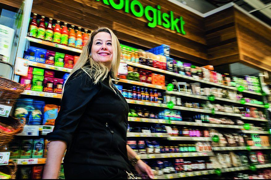 Anna Nordell, medarbetare på Ica Kvantum i Larsberg.