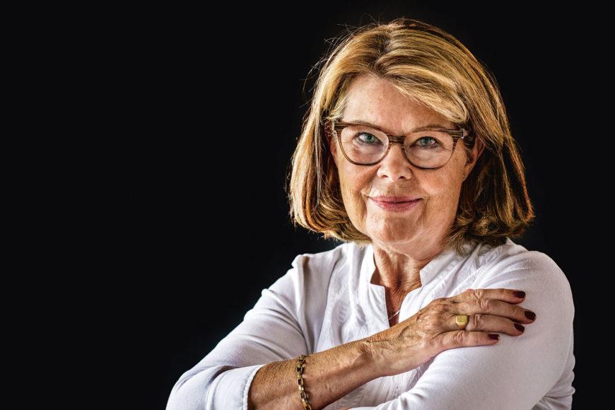 Porträtt av Katarina Palmstierna, ordförande i Lidingö Näringsliv.