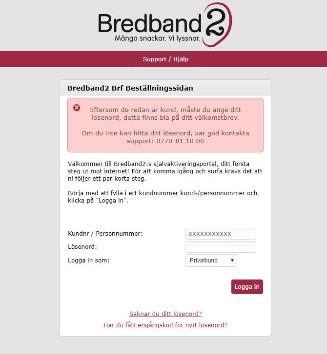 bredband2 logga in